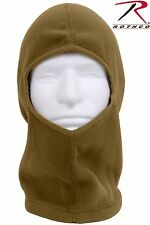Coyote Brown Head, Neck & Face Cover Fleece Balaclava - Rothco Cold Weather Hood