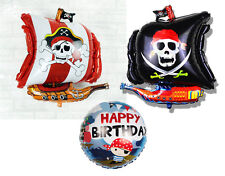 Halloween Pirates Corsair Foil Balloons Kids Boy Party Favor Supply Props Gifts