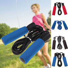 Professional Fitness Speed Jump Training Exercise Skipping Rope Gym Rope LU