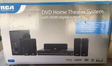NEW RCA RTD317W 5.1 Channel DVD Player Home Theater Speaker System 250 Watts