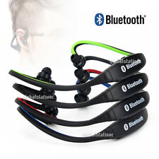 HOT STEREO Wireless Bluetooth Headset Headphones Sports for iPhone iPod Samsung