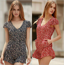 Sexy Women Summer Shorts Playsuit Dress Clubwear Party Jumpsuit Romper Trousers