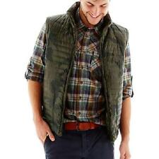 NEW CAMO VEST M L XL BUFFALO I JEANS MENS CAMOUFLAGE GREEN PUFFER JACKET $90