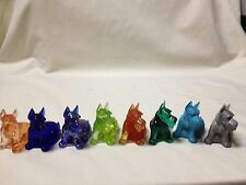 BOYD GLASS CHARLIE SCOTTIE DOG-CHOICE OF COLORS