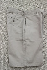 NWT Nautica Uniform Shorts Khaki  Boy's Adjust Waist 14 Free Ship