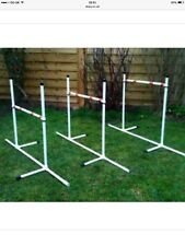 Dog Agility JESSEJUMP 6 Pole Deluxe Weave or 3 Deluxe Jump Set
