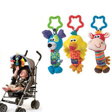 Kids Baby Soft Animal Handbells Developmental Toy Rattles Bed Stroller ZH9