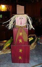 Pattern for Wood Seasonal Fall Scarecrow Stak~Primitive~Hand Paint (FreeShipUS)