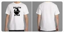 DEATH STAR - Star Wars Inspired White T-Shirt - Sci-Fi Collectors Novelty New