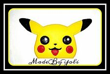 Embroidery Design Digitized Yellow Poke Face Applique
