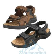 Genuine Leather Men's Sport Beach Sandals Fisherman Breathable Casual Shoes New