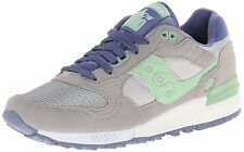 Saucony Originals Women's SHADOW 5000 Grey/Light Green Comfort Fashion Sneakers
