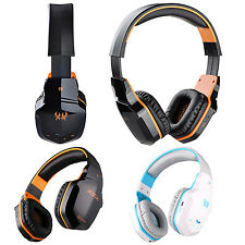 Bluetooth Wireless Headphones Stereo Gaming Headset NFC Mic For iPhone 7 6S Plus