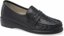 Softspots VENUS LITE 114701 Womens Black Slip On Loafers Shoes