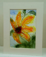 1 Hand painted artists greeting cards by Lesley Shaw Each one unique Fast post