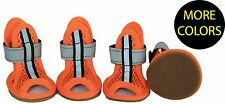 Sporty-Supportive Mesh Reflective Ankle Supportive Pet Dog Sandals Shoes Boots