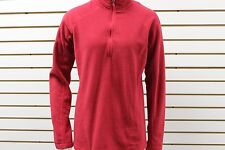 Women's Marmot 100 Wt Fleece Rocklin 1/2 Zip Dark Raspberry 88990 New With Tag
