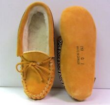 Canadian Children's Indian Tan Suede Indoor Moccasins Girls Multiple Sizes