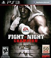 PS3 Fight Night Champion (Sony PlayStation 3, 2011) PS3