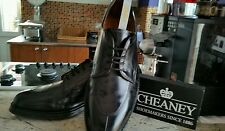 Men's CHEANEY / CHURCH BROGUE - Bench Made  BLACK Shoes – UK 10