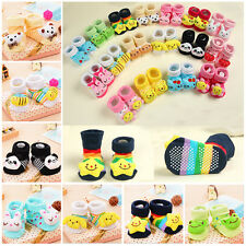 Baby Socks Non-Slip Cartoon Cotton Children's Socks NewBorn Infant Toddler Socks