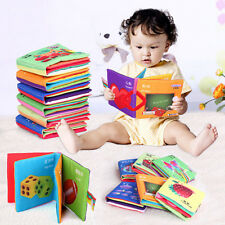 Baby Soft Cloth Cognize Book Kid Intelligence Development Educational Toy