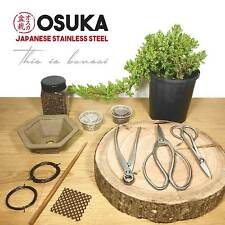 Deluxe Bonsai Tree Starter Kit – w/ 3pc OSUKA Stainless Steel Bonsai Tool Kit