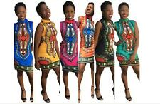 Odeneho Wear Ladies  Polished Cotton/Dashiki dress .African Clothing.