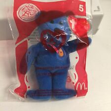 Ty ~McNUGGETS the Bear #5 McDonalds Happy Meal Toy NIP sealed pk New