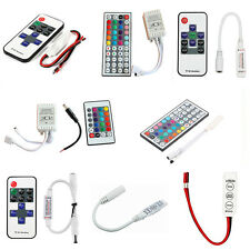 3/10/24/44 Keys Mini IR Remote Controller For 3528 5050 RGB LED Strip Light WHL