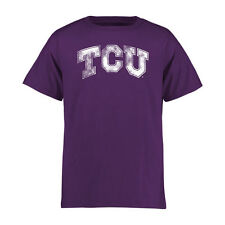 TCU Horned Frogs Youth Purple Classic Primary T-Shirt