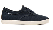 HUF SUTTER NAVY TEXTILE MENS CASUAL SKATE SHOES SNEAKERS AUSTRALIA CLEARANCE