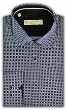 Mens Shirts Cavani Long Sleeved Formal Slim Fit Dress Shirt