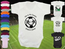 DERBY COUNTY Football BABYGROW/Vest/Bodysuit/Romper- Boy/Girl- Personalise gift