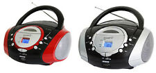 Supersonic 110/220V CD/MP3/USB/Aux AM/FM Portable Audio System SC-508