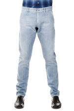 DOLCE & GABBANA Man Blue Cotton Jeans Made in Italy New with Tags and Original