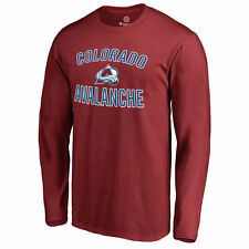 Colorado Avalanche Maroon Victory Arch Long Sleeve T-Shirt