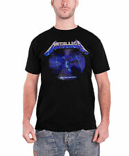 Metallica T Shirt Ride the Lightning 30th Anniversary Official Mens New Black
