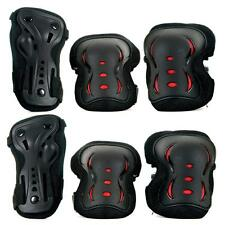 SFR Essential Kids Triple Pad Set Black/Red
