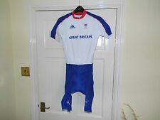 WOMENS Adidas GB OLYMPIC Team Issue SS Skinsuit - cycling bike padded shorts
