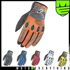 Joe Rocket Rocket Nation 2.0 Motorcycle Glove Black Red Blue Yellow Orange White