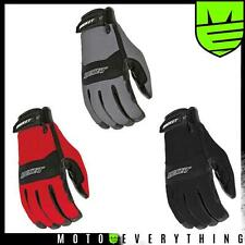 Joe Rocket RX14 Crew Touch Motorcycle Glove Black Red Gun Metal S M L XL 2XL 3XL