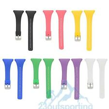 Color Silicone Wristband Watch Band Strap For POLAR FT4 FT7 Heart Rate Monitor