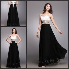 New Party Ball Elegant Evening Prom Gown Formal Bridesmaid Cocktail Dress