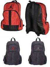 Brand New Jumpman Backpack Michael Jordan by Nike Book Bag Black Red Gray