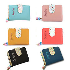 Wallet Coin Zip Clutch Card Holder Handbag Fashion Leather Womens Purse Small