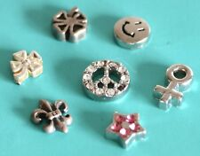ORIGAMI OWL Charms & LOCKET BOWL Infinity Clover Peace Floating Locket Charm