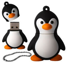 5X(Novelty Cute Baby Penguin USB 2.0 Flash Drive Data Memory Stick Device HY