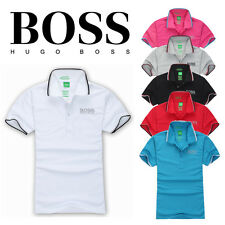 Hugo Boss Hot Men Brand New Green Label Casual Polo T- Shirt Short Sleeved M,L2