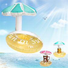 Inflatable Beer Can Cup Drink Holder Floating for Pool Bath Beach Party Decor